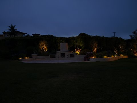 Landscape Lighting Camarillo Patio Area