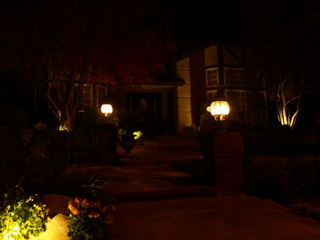 Landscape Lighting Camarillo Entrance