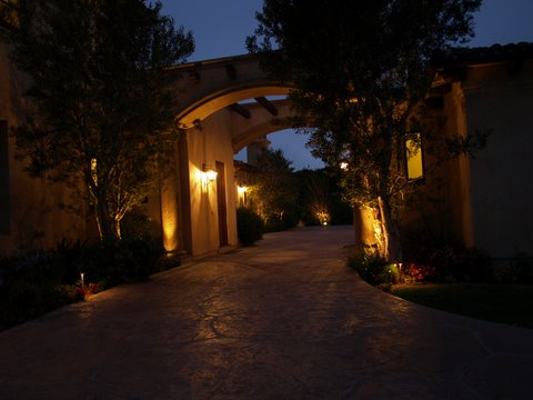 Landscape Lighting Camarillo Modern Landscape  Lighting
